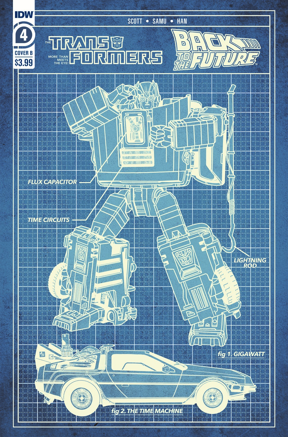 TF-BTTF04-coverB ComicList: IDW Publishing New Releases for 06/23/2021