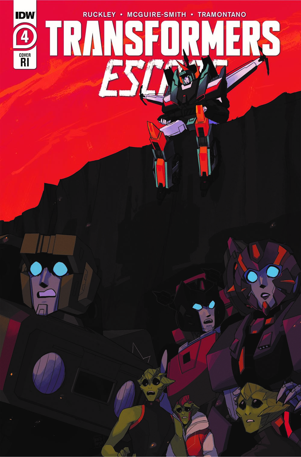 TFEscape04-Cover-RI-A ComicList: IDW Publishing New Releases for 06/16/2021