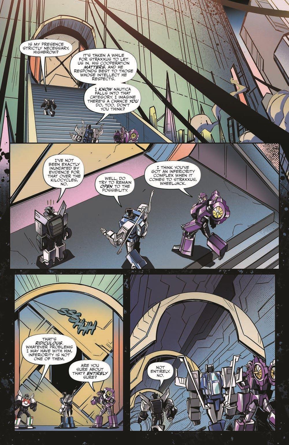 TFEscape04-pr-7 ComicList Previews: TRANSFORMERS ESCAPE #4 (OF 5)