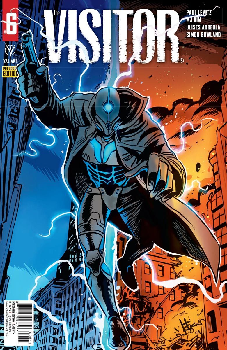 THE_VISITOR_PREORDER_VARIANT ComicList Previews: THE VISITOR #6 (OF 6)