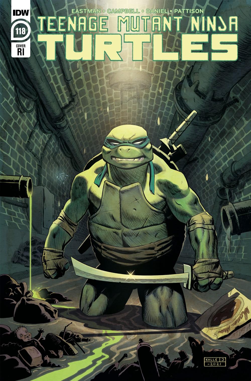 TMNT118_cvrRI ComicList Previews: TEENAGE MUTANT NINJA TURTLES #118