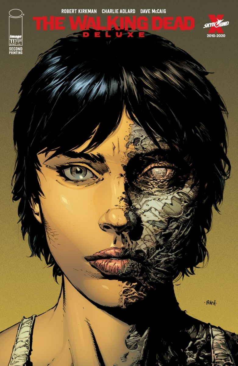 TWDDLX11A_2ndPtg_Finch1_c6815a0147f8285e3b5042ebb3626151-2 THE WALKING DEAD DELUXE #7-12 return with new printings