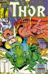 Thor-364-195x300 Trends & Oddballs: Conan, Throg, and Ren & Stimpy