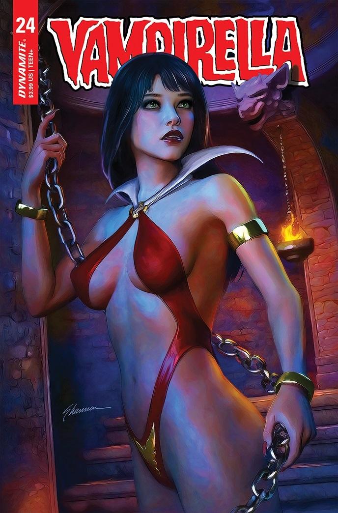 Vampi-24-24031-C-Maer Dynamite Entertainment September 2021 Solicitations