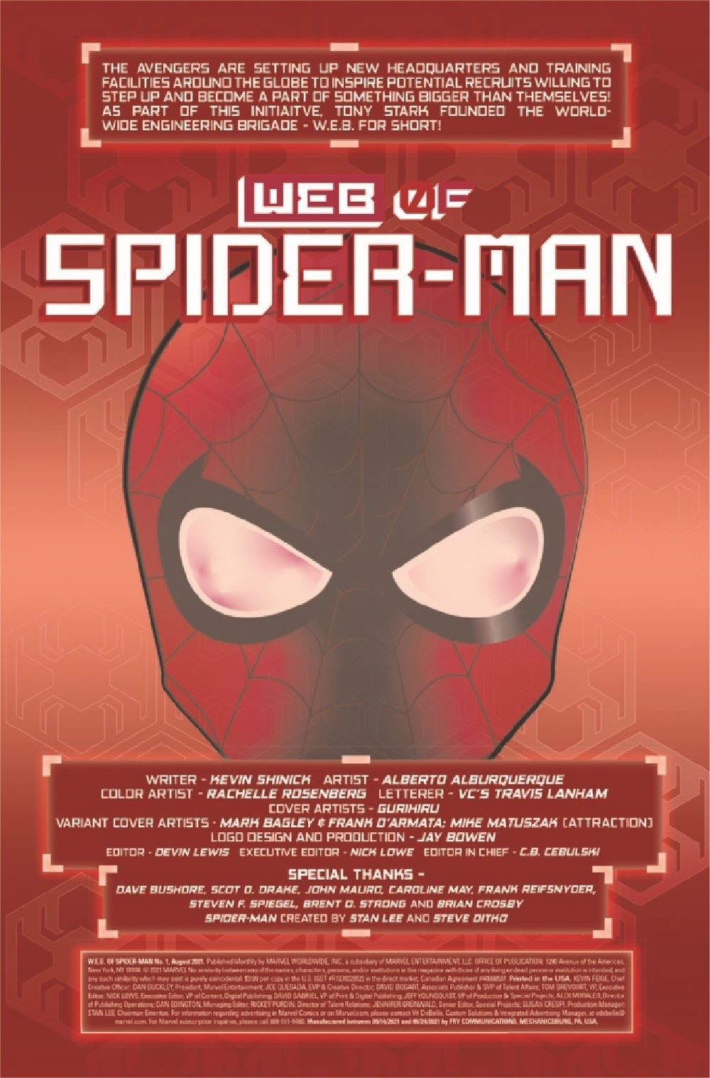 WEBOFSM2020001_Preview-2 ComicList Previews: W.E.B. OF SPIDER-MAN #1 (OF 5)