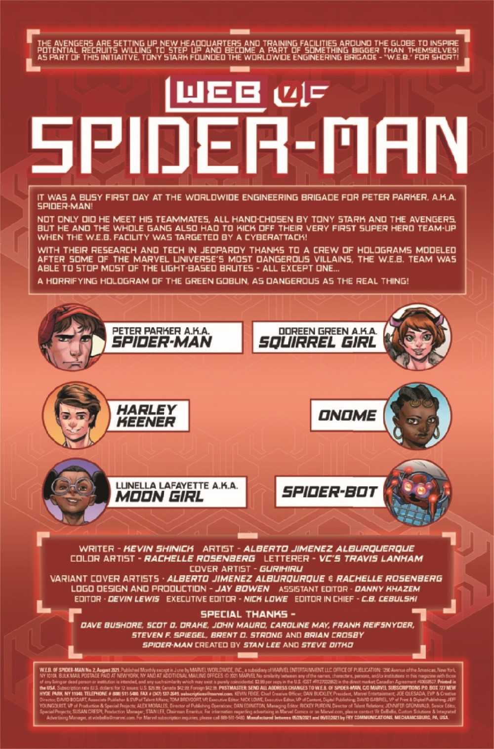 WEBOFSM2020002_Preview-2 ComicList Previews: W.E.B. OF SPIDER-MAN #2 (OF 5)
