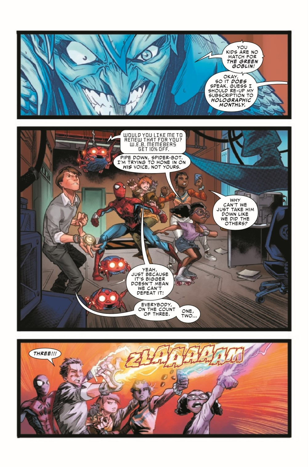 WEBOFSM2020002_Preview-6 ComicList Previews: W.E.B. OF SPIDER-MAN #2 (OF 5)