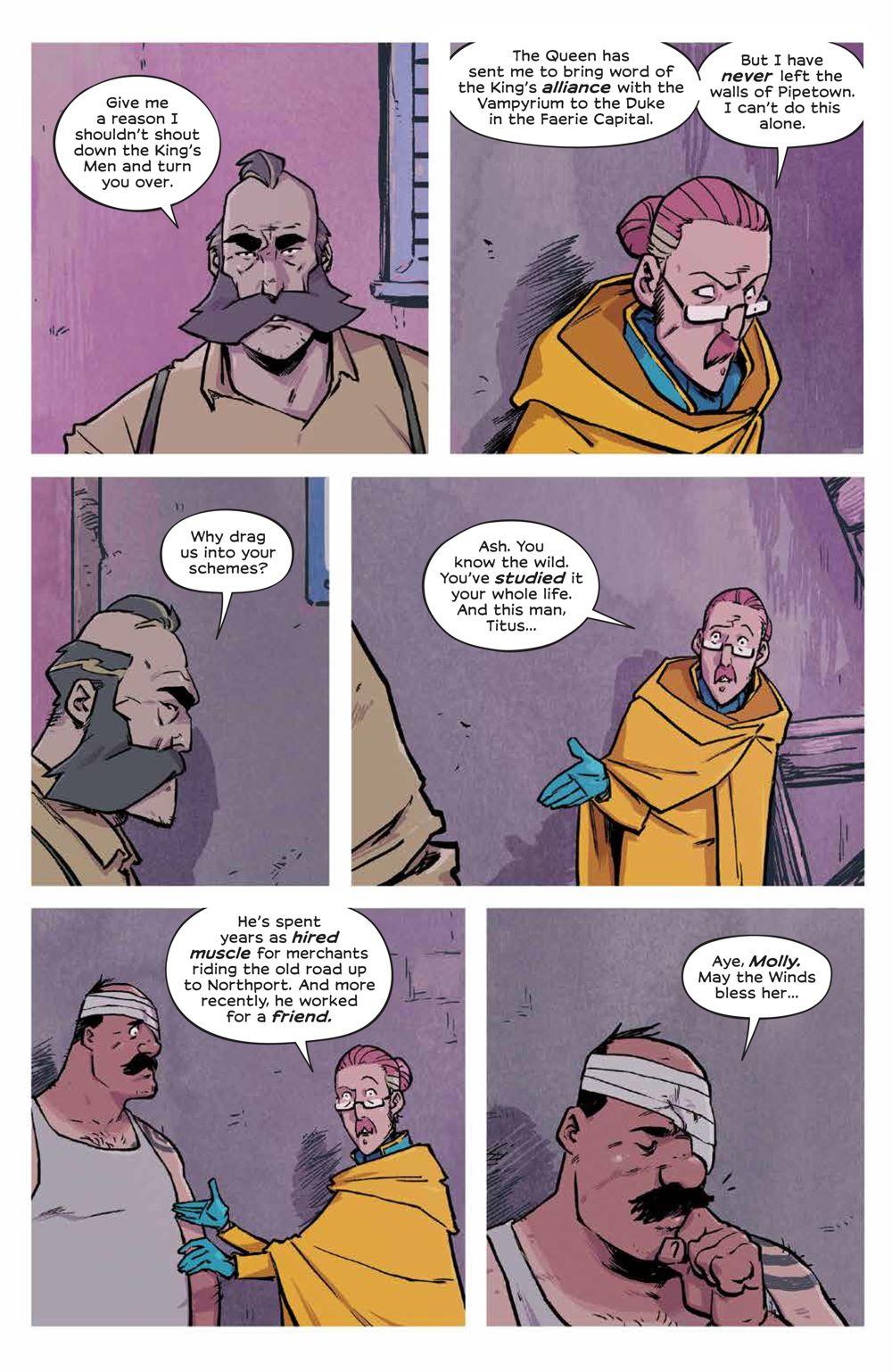 Wynd_007_PRESS_7 ComicList Previews: WYND #7