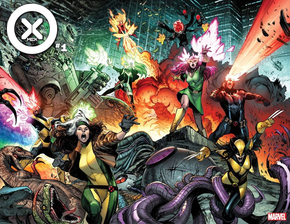 XMEN2021001_cov A new X-Men team is formed in this new X-Men series and trailer