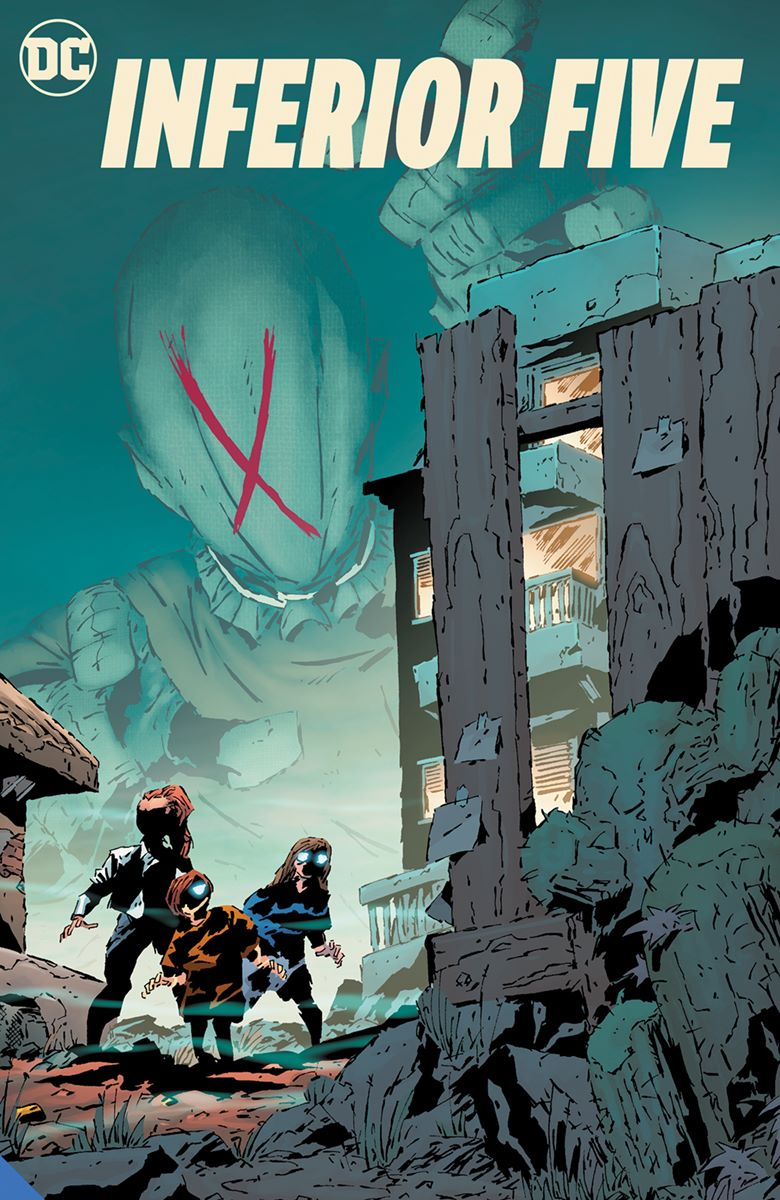 inferiorfive_adv DC Comics September 2021 Solicitations