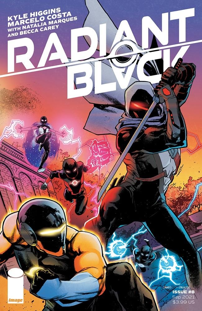 radiantblack_08a Image Comics September 2021 Solicitations
