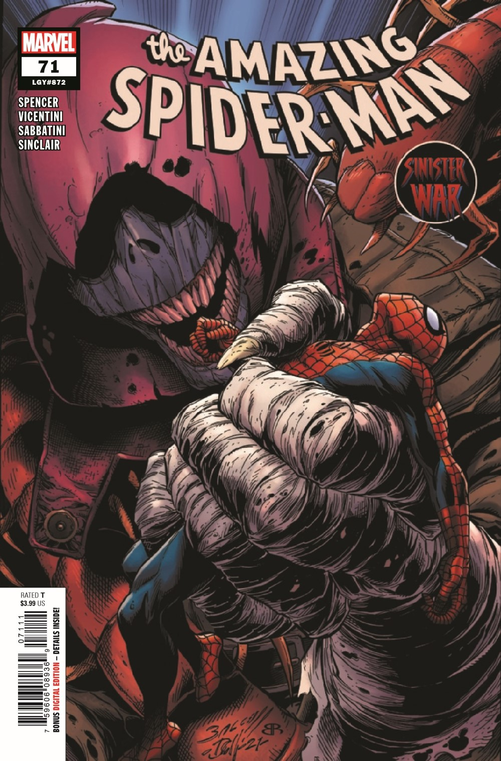 ASM2018071_Preview-1 ComicList Previews: AMAZING SPIDER-MAN #71
