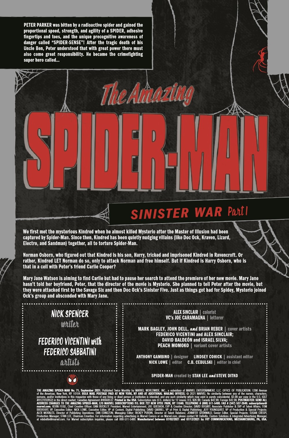 ASM2018071_Preview-2 ComicList Previews: AMAZING SPIDER-MAN #71