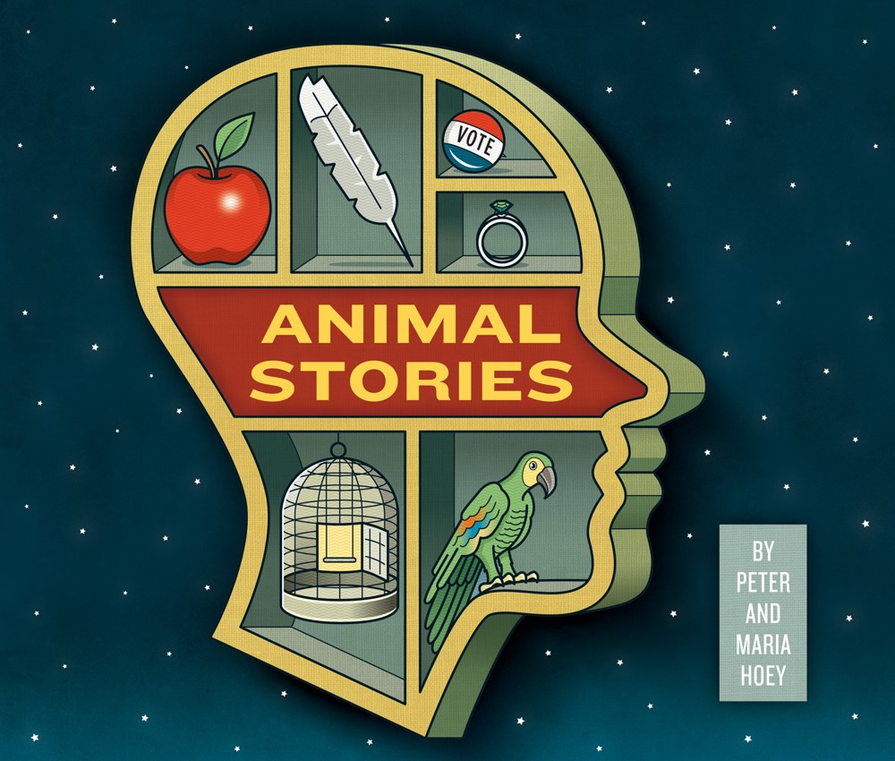 Animal-Stories-COVER IDW Publishing October 2021 Solicitations