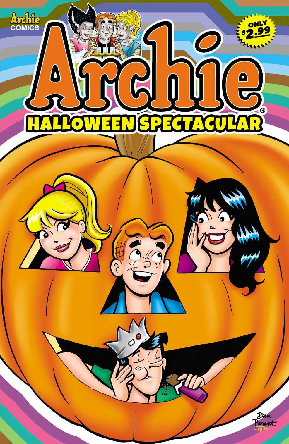 ArchieHallowSpec Archie Comic Publications October 2021 Solicitations