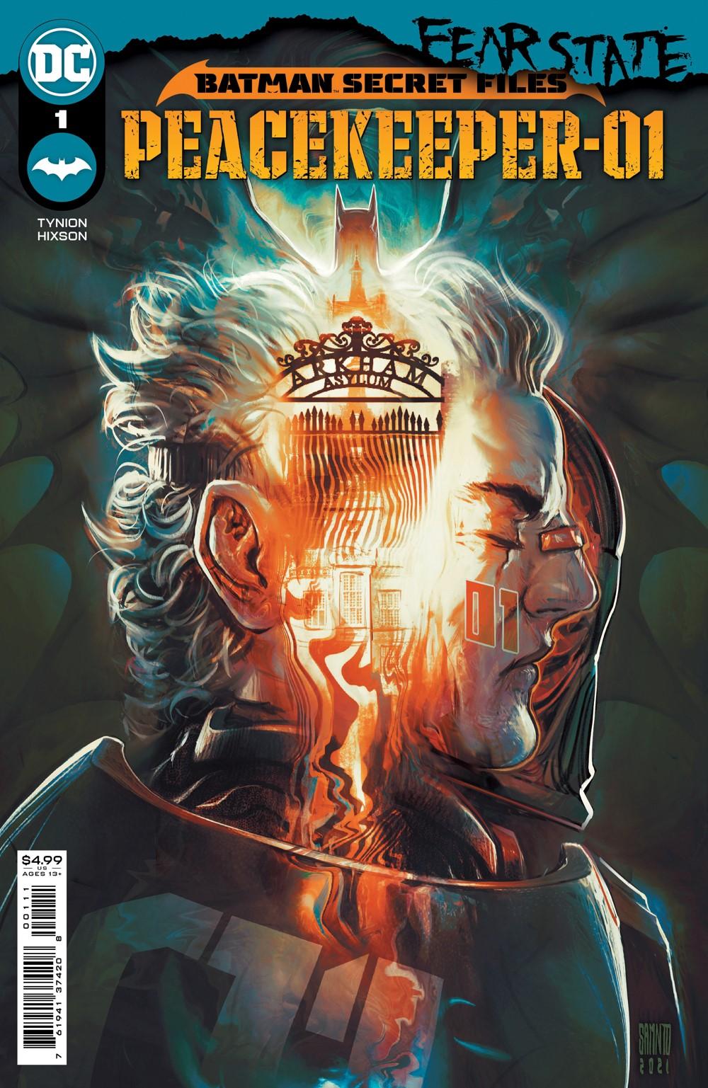 BMSF_PEACEKPR_Cv1_00111 DC Comics October 2021 Solicitations