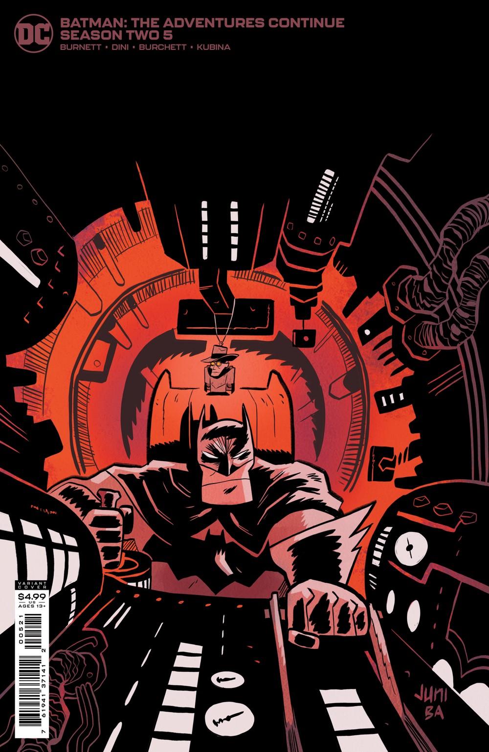 BMTACS2_Cv5_var_00521 DC Comics October 2021 Solicitations