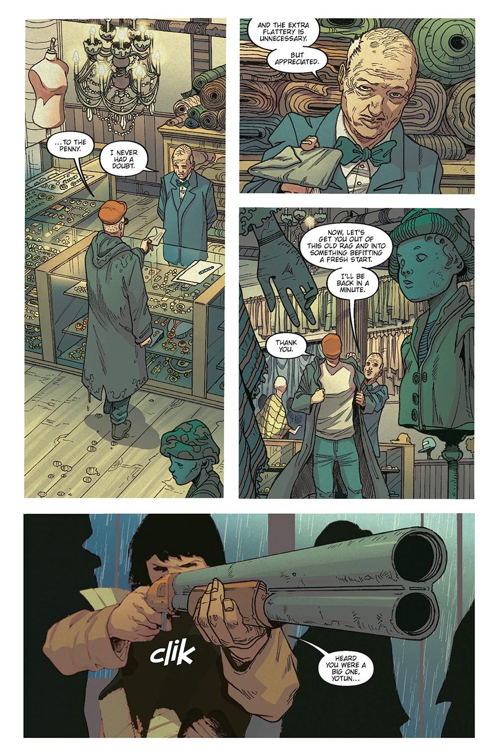 BR-Reunion-2 ComicList Previews: BLADE RUNNER 2029 VOLUME 1 REUNION TP
