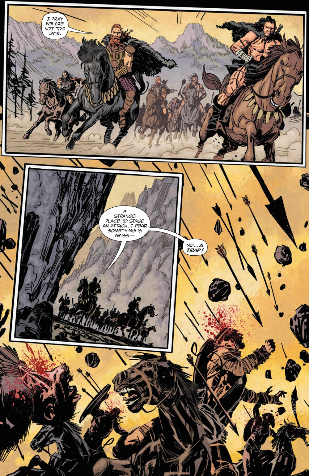 BRZRKR_004_PRESS_7 ComicList Previews: BRZRKR #4 (OF 12)