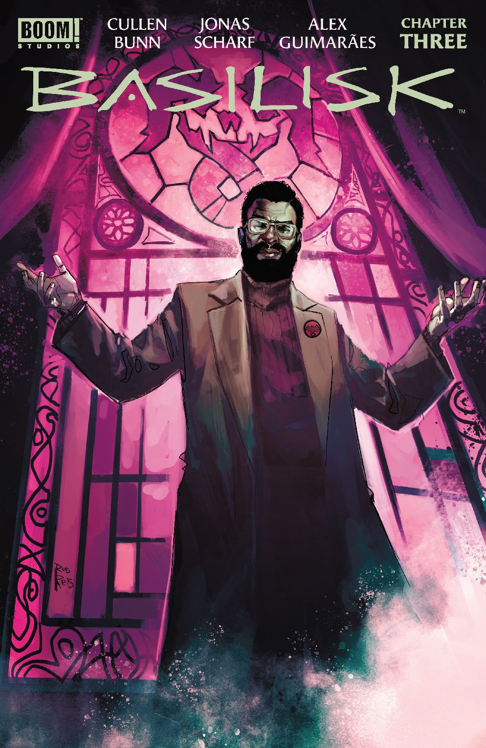 Basilisk_003_Cover_B_Variant ComicList: BOOM! Studios New Releases for 08/04/2021