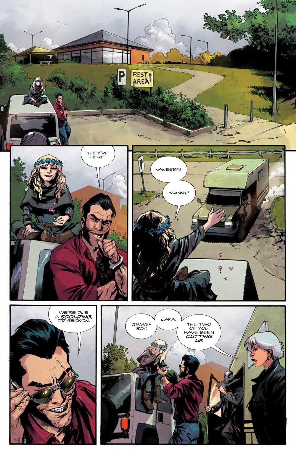Basilisk_003_PRESS_8 ComicList Previews: BASILISK #3