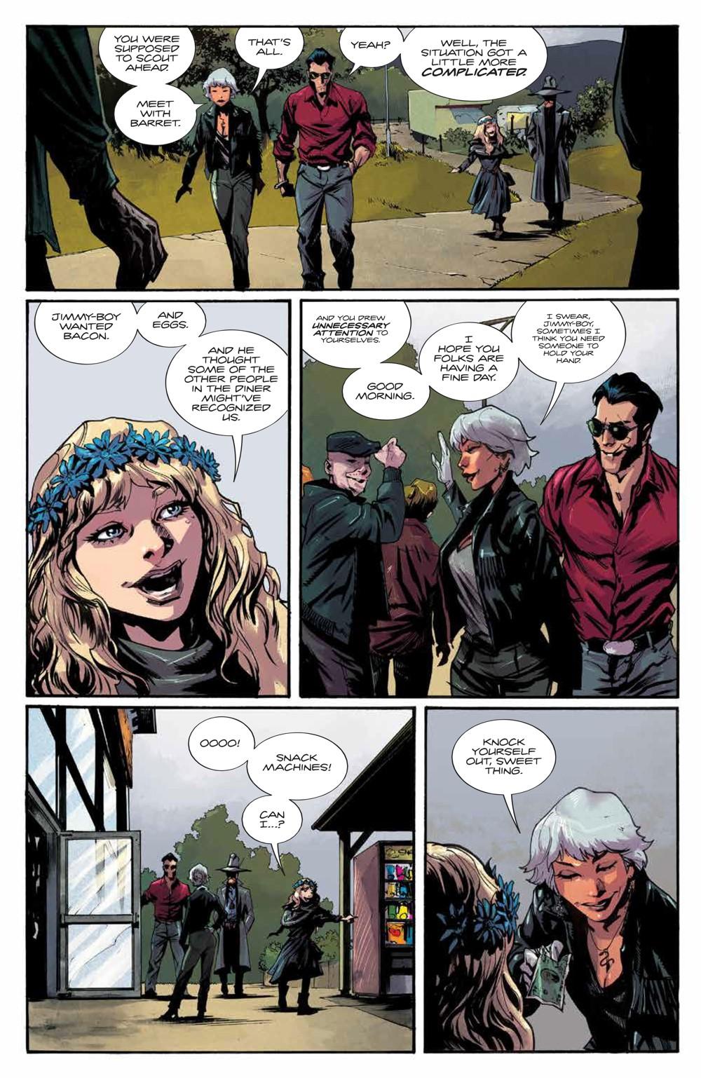 Basilisk_003_PRESS_9 ComicList Previews: BASILISK #3