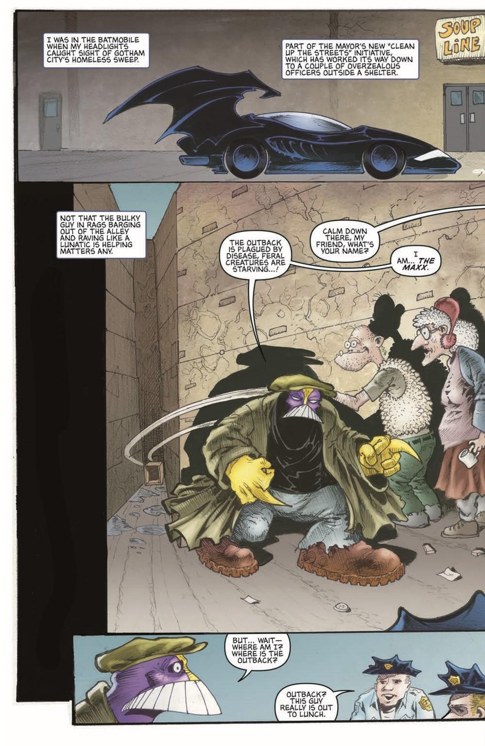 Batman-Maxx-HC_pr-7 ComicList Previews: BATMAN THE MAXX ARKHAM DREAMS HC