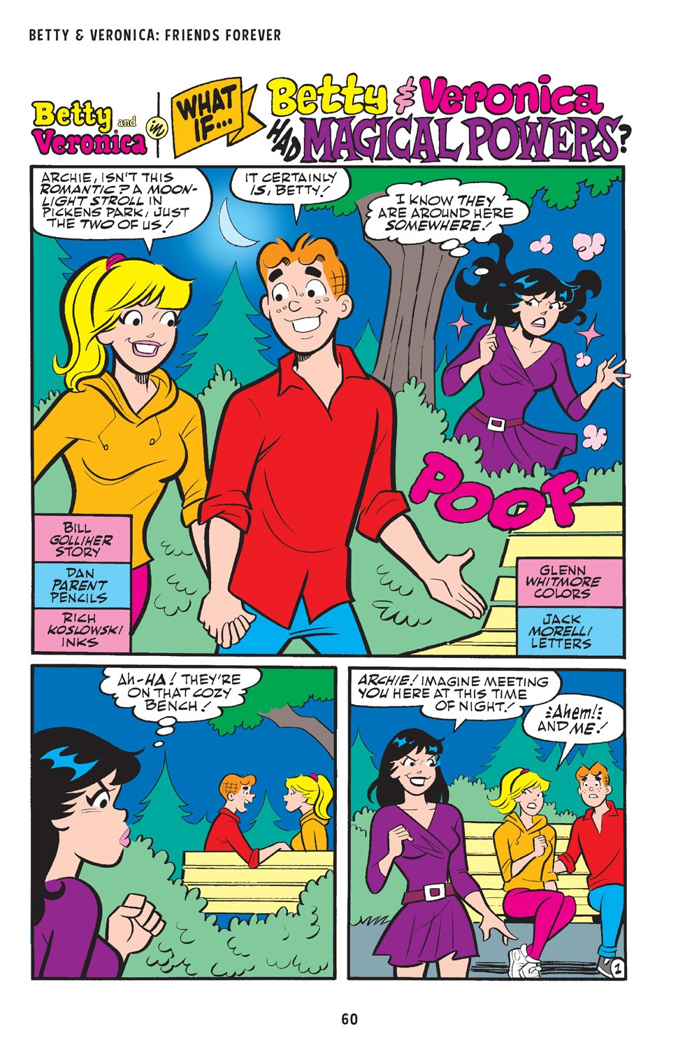 BettyAndVeronicaFriendsForever_WhatIf_60 ComicList Previews: BETTY AND VERONICA FRIENDS FOREVER WHAT IF TP