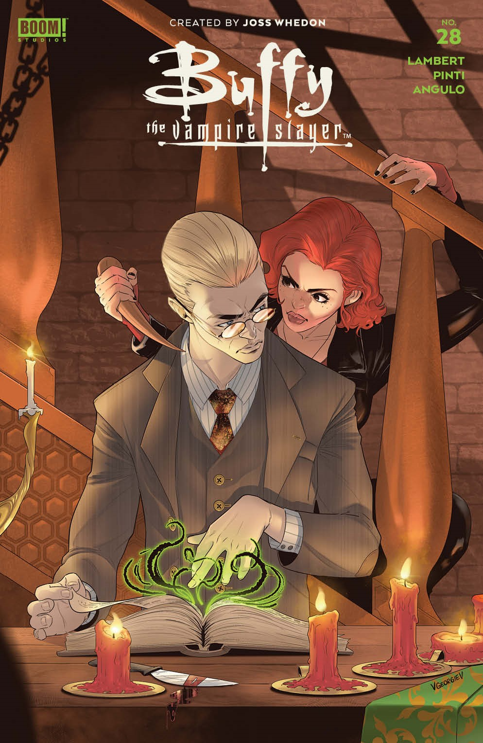 Buffy_028_Cover_B_Variant_Multiversus ComicList Previews: BUFFY THE VAMPIRE SLAYER #28