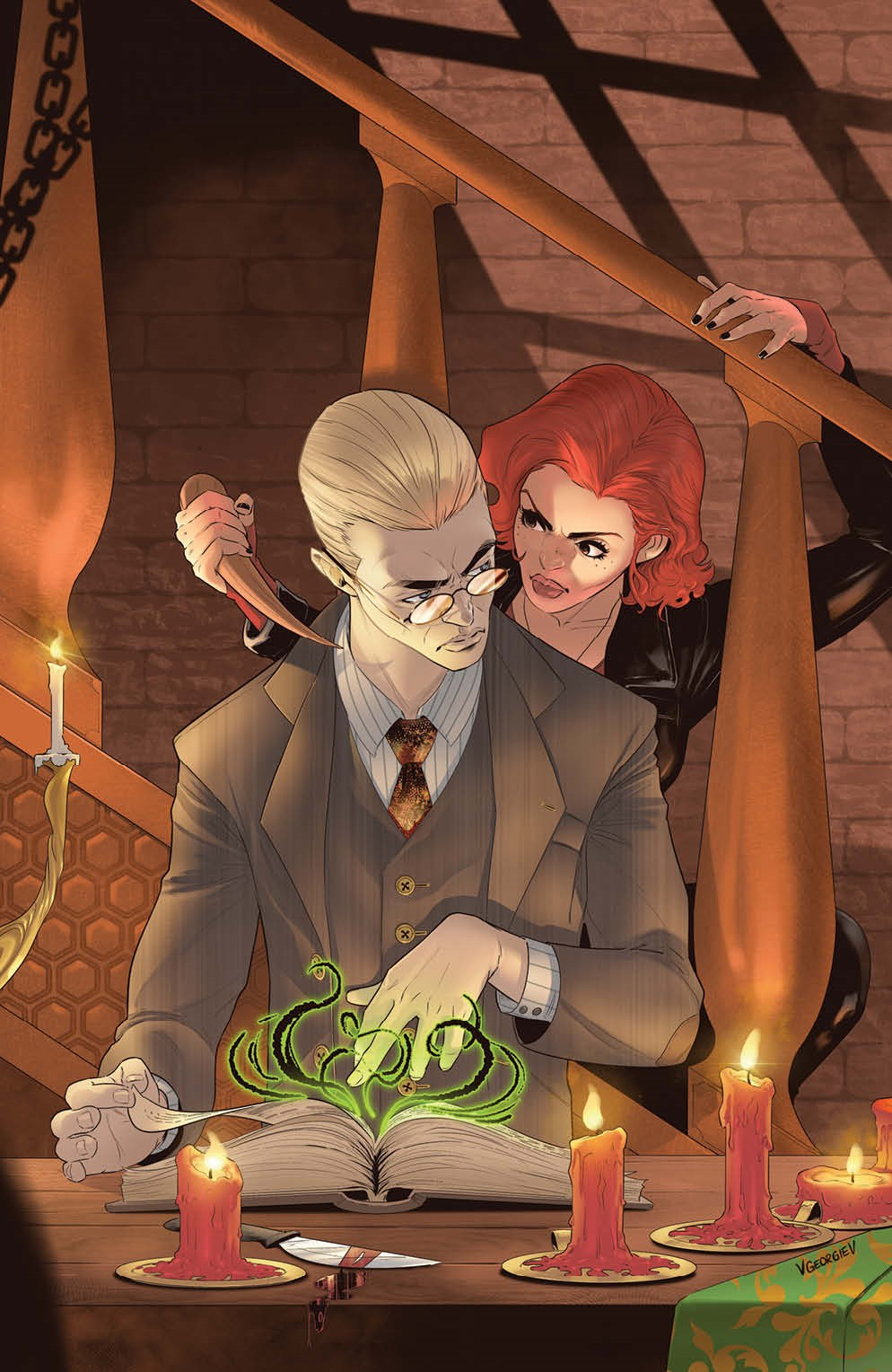Buffy_028_Cover_F_Variant_Undressed ComicList Previews: BUFFY THE VAMPIRE SLAYER #28