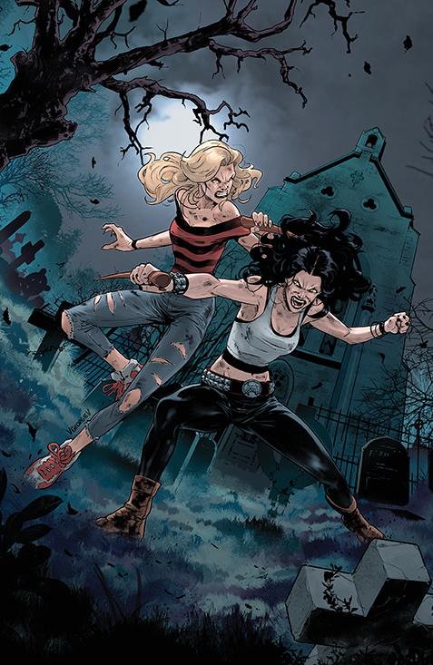 Buffy_030_Cover_B_Multiversus BOOM! Studios October 2021 Solicitations