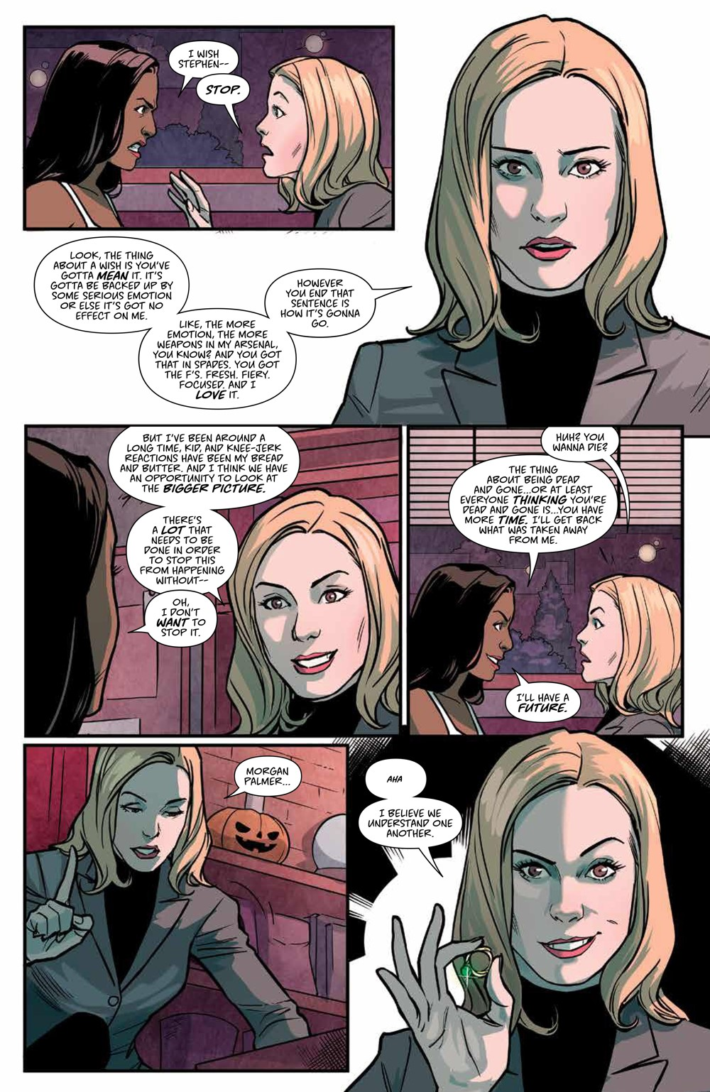 Buffy_v6_SC_PRESS_20 ComicList Previews: BUFFY THE VAMPIRE SLAYER VOLUME 6 SECRETS OF THE SLAYER TP