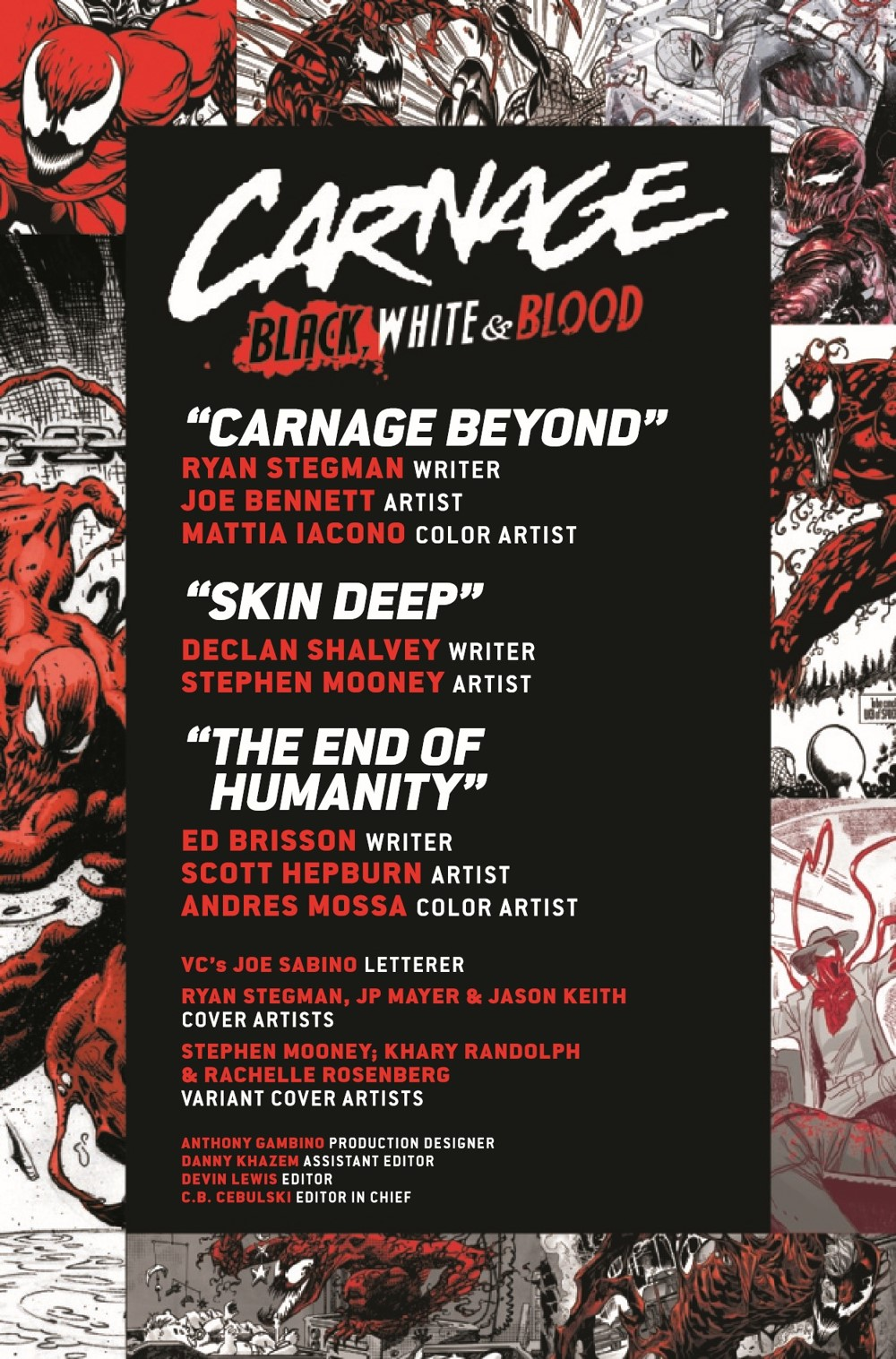 CARNBLKWHBL2021004_Preview-2 ComicList Previews: CARNAGE BLACK WHITE AND BLOOD #4 (OF 4)