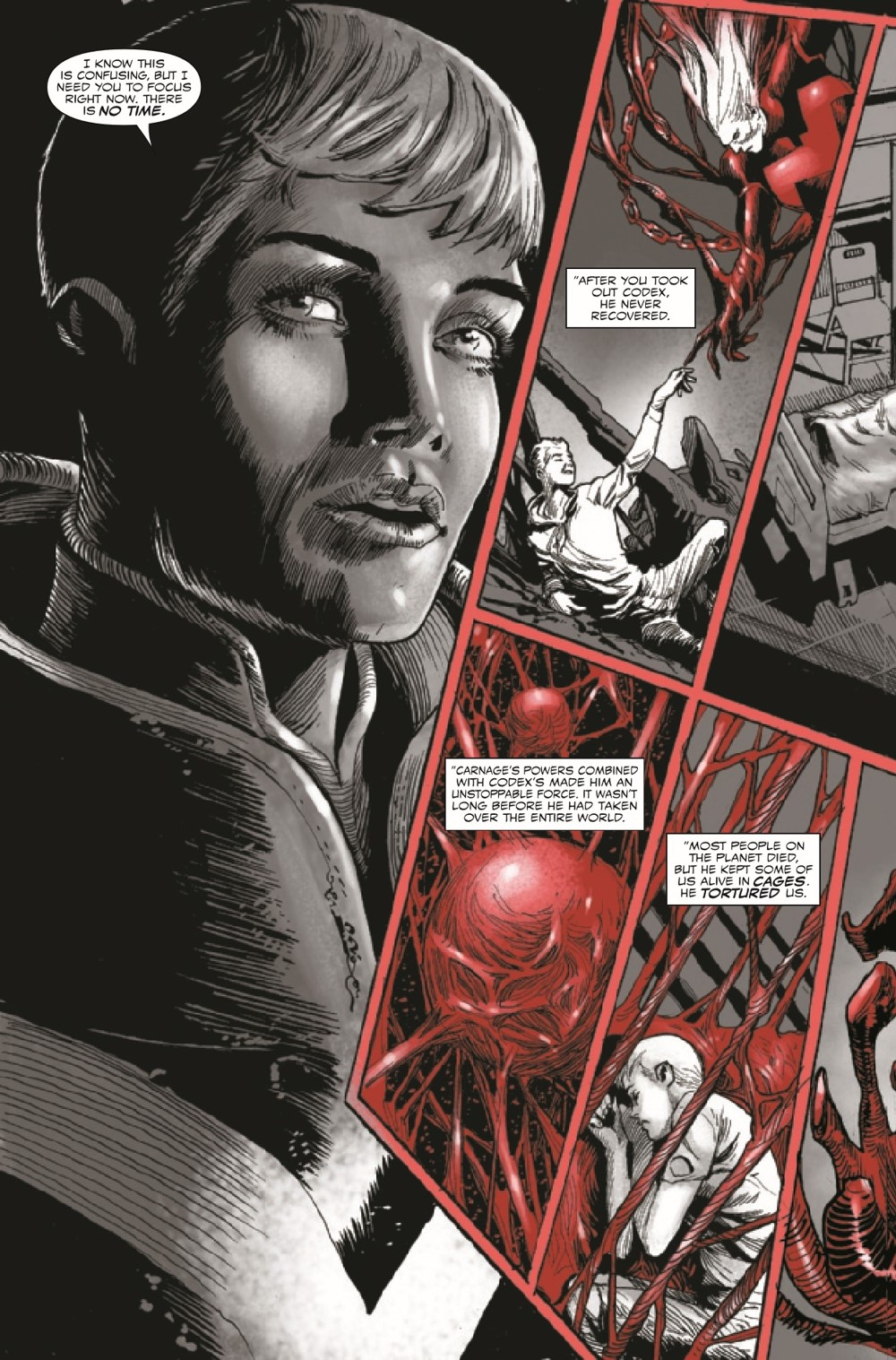 CARNBLKWHBL2021004_Preview-3 ComicList Previews: CARNAGE BLACK WHITE AND BLOOD #4 (OF 4)