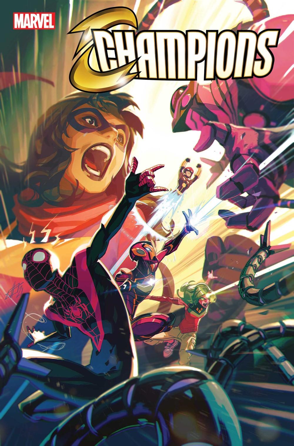 CHAMP2020010_Cov Marvel Comics October 2021 Solicitations