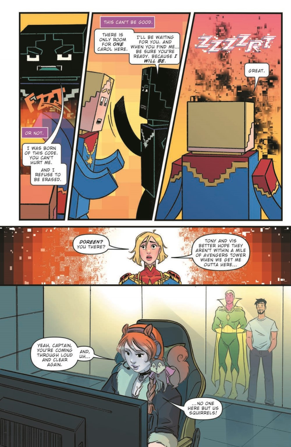 CaptainMarvel2_05_pr-4 ComicList Previews: MARVEL ACTION CAPTAIN MARVEL VOLUME 2 #5