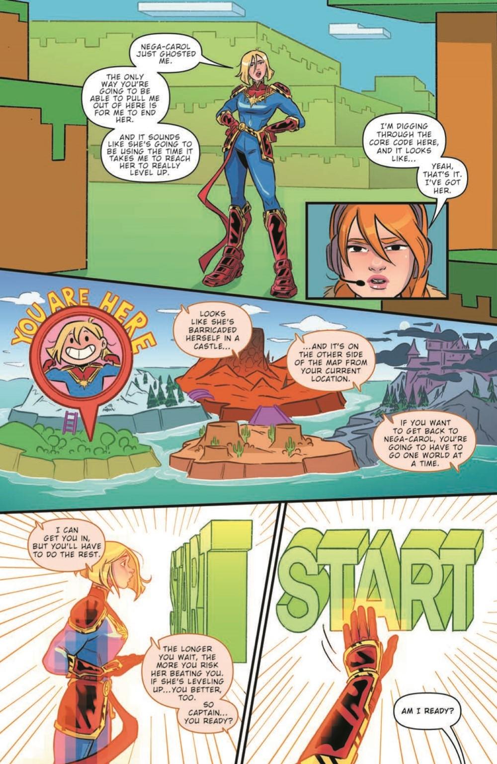 CaptainMarvel2_05_pr-5 ComicList Previews: MARVEL ACTION CAPTAIN MARVEL VOLUME 2 #5