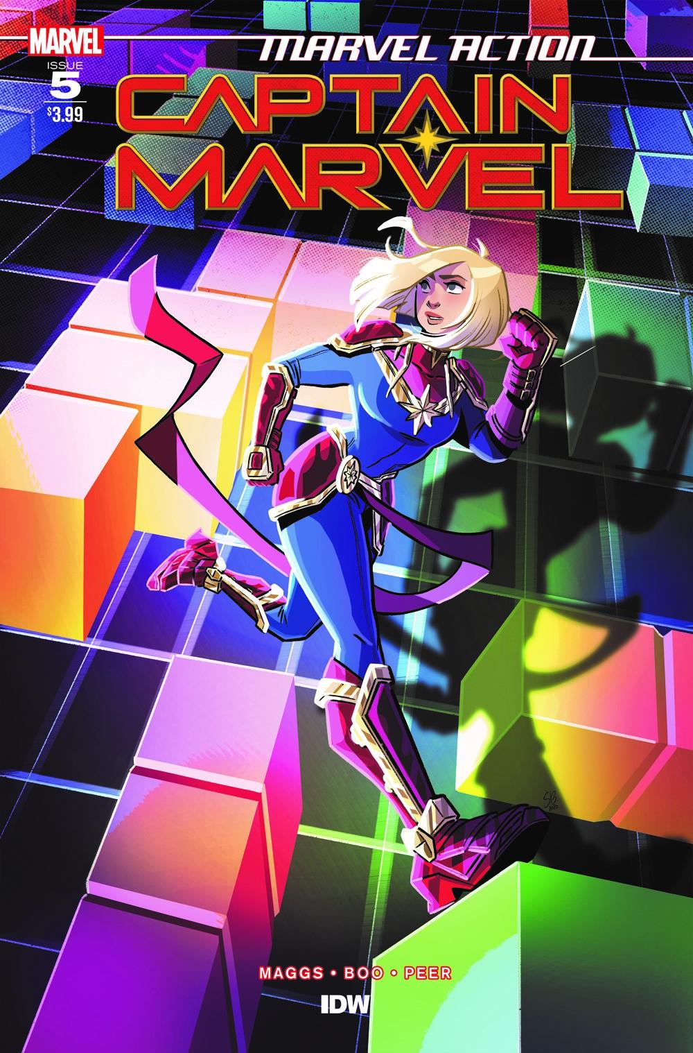 CaptainMarvel_Acvr_05 ComicList Previews: MARVEL ACTION CAPTAIN MARVEL VOLUME 2 #5