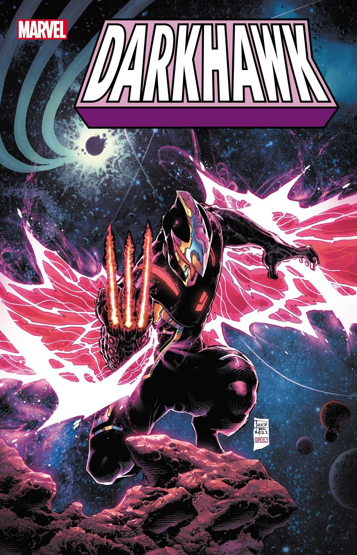 DRKHWK2021003_Tan_var Marvel Comics October 2021 Solicitations