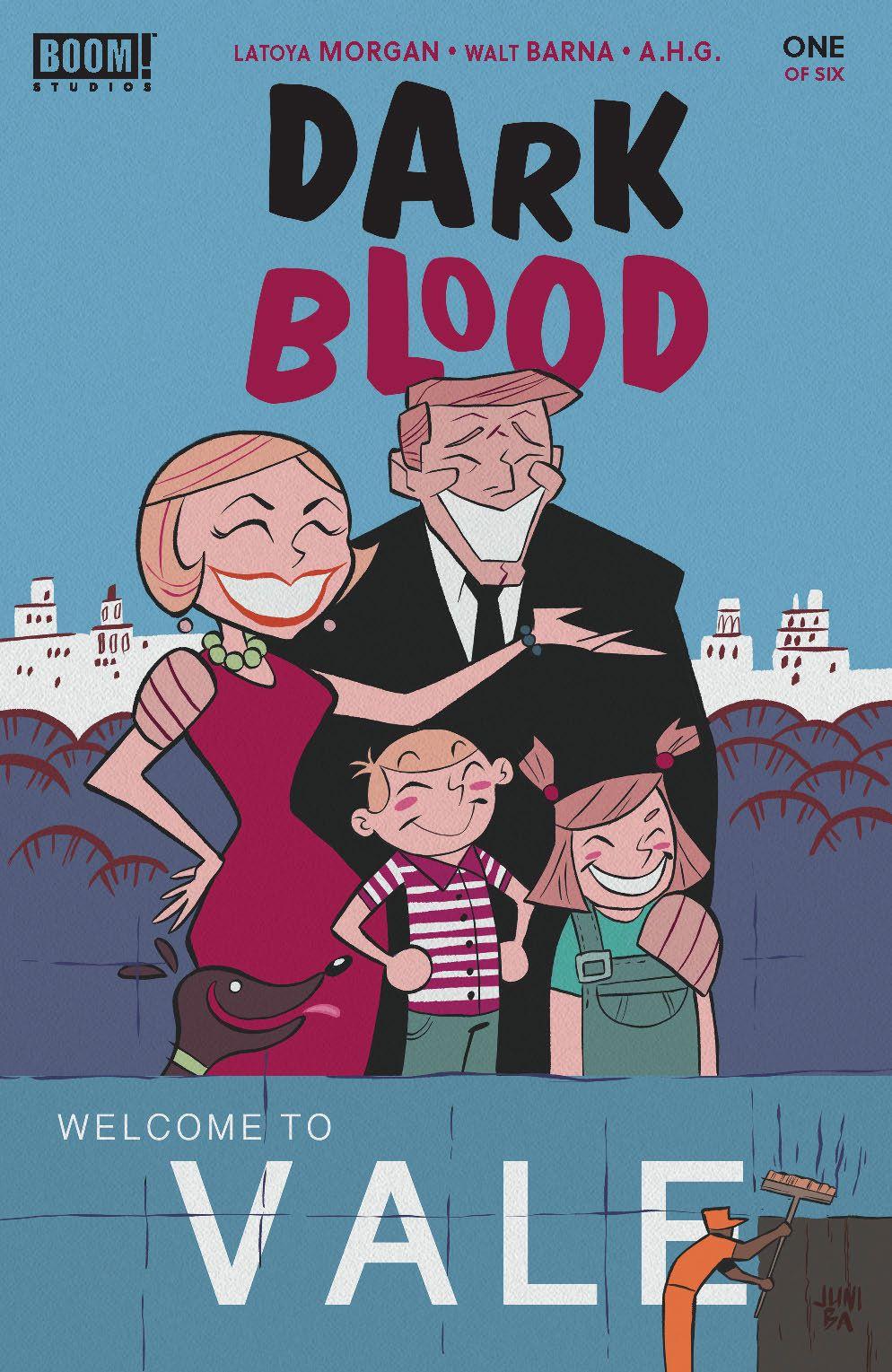 DarkBlood_001_Cover_B_Variant ComicList Previews: DARK BLOOD #1 (OF 6)