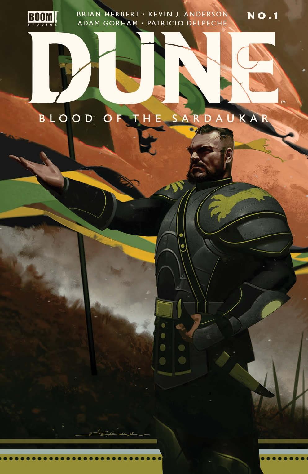 Dune_BloodSardaukar_001_Cover_A_Main ComicList Previews: DUNE BLOOD OF THE SARDAUKAR #1