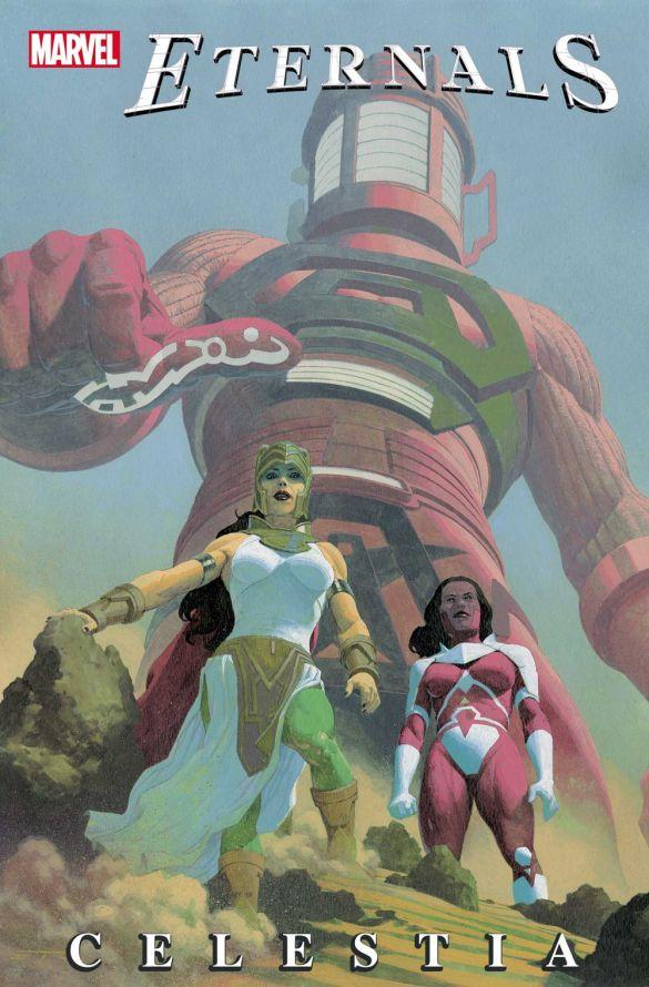 ETRNLSCELESTIA2021001_cov The Eternals battle really old Avengers in ETERNALS: CELESTIA #1