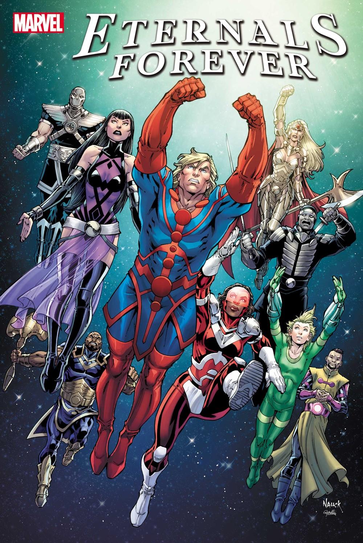 ETRNLSFOREVER2021001_cvr-1 Marvel Comics October 2021 Solicitations