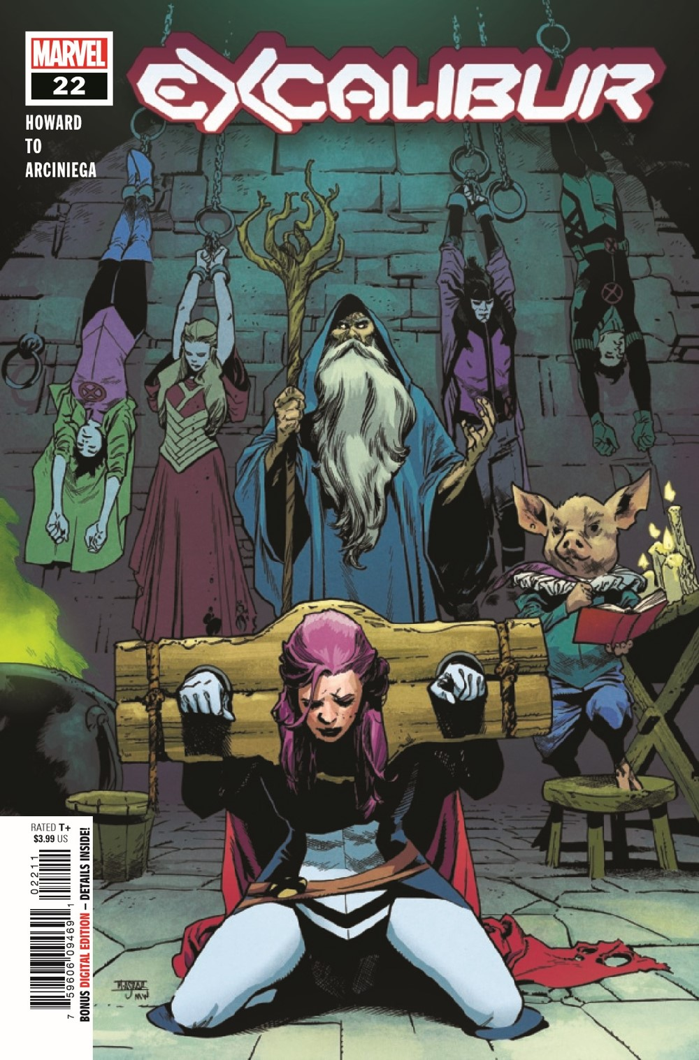 EXCAL2019022_Preview-1 ComicList Previews: EXCALIBUR #22