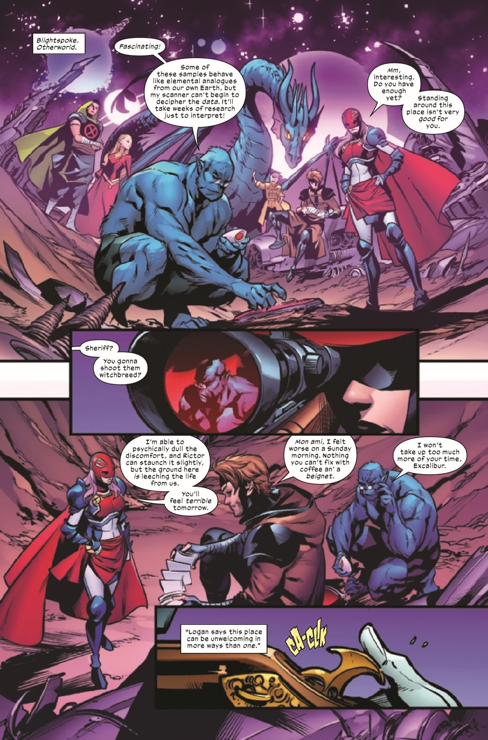 EXCAL2019022_Preview-2 ComicList Previews: EXCALIBUR #22