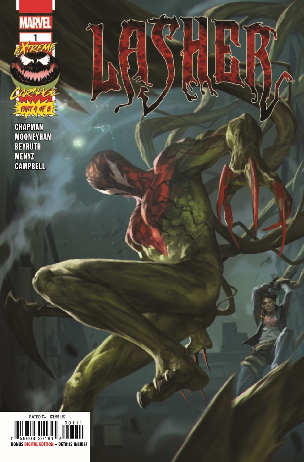 EXTCARNLA2021001_Preview-1 ComicList Previews: EXTREME CARNAGE LASHER #1