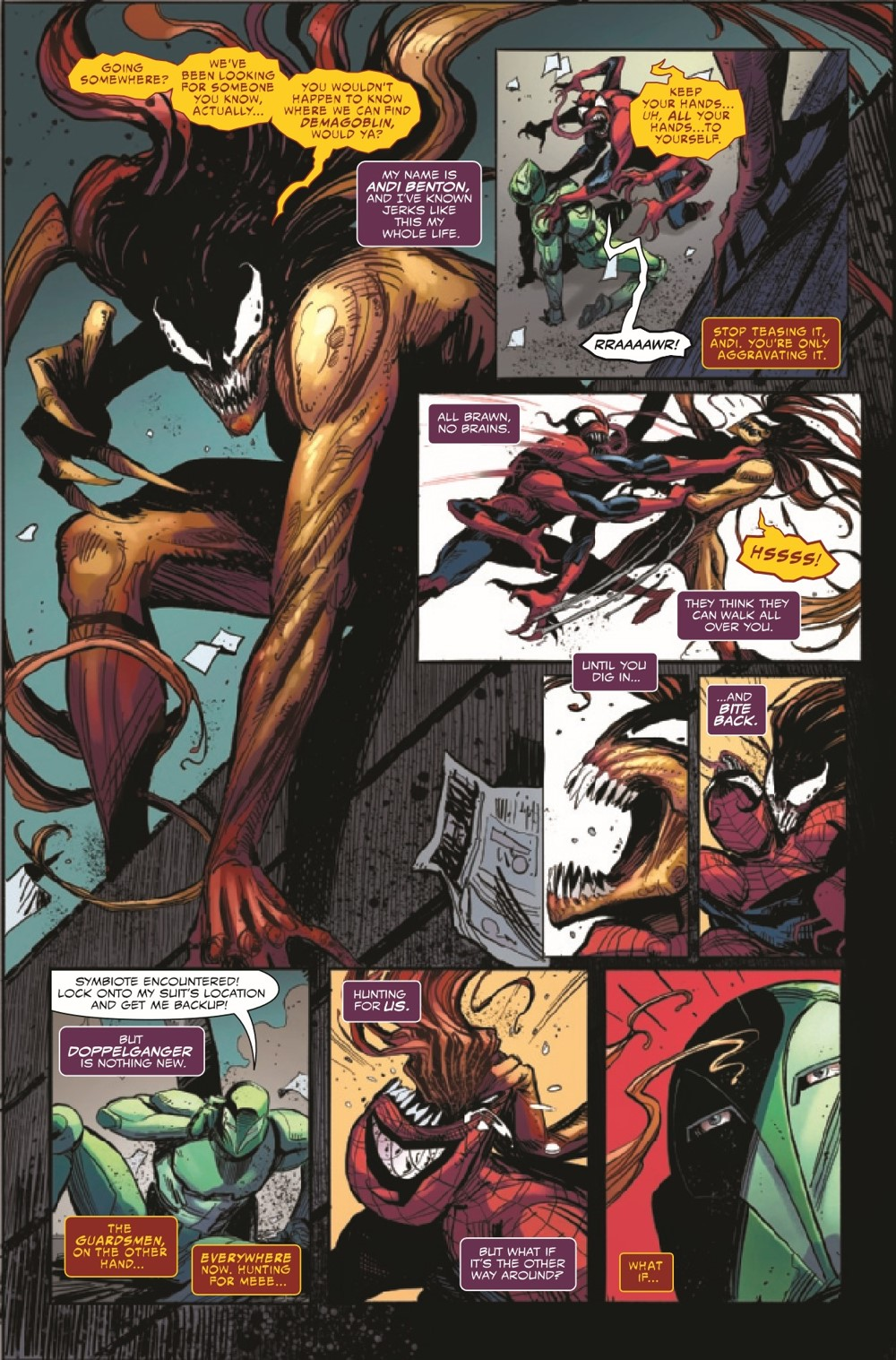 EXTCARNSC2021001_Preview-6 ComicList Previews: EXTREME CARNAGE SCREAM #1