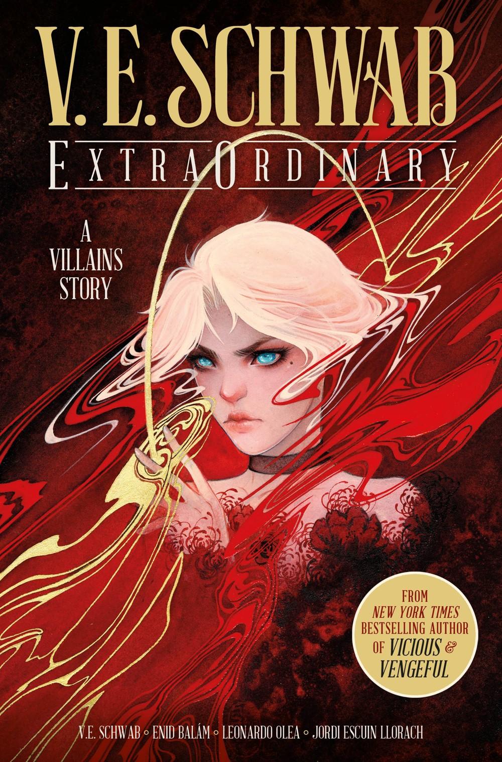 EXTRAORDINARY-HC-REGULAR-COVER Titan Comics October 2021 Solicitations