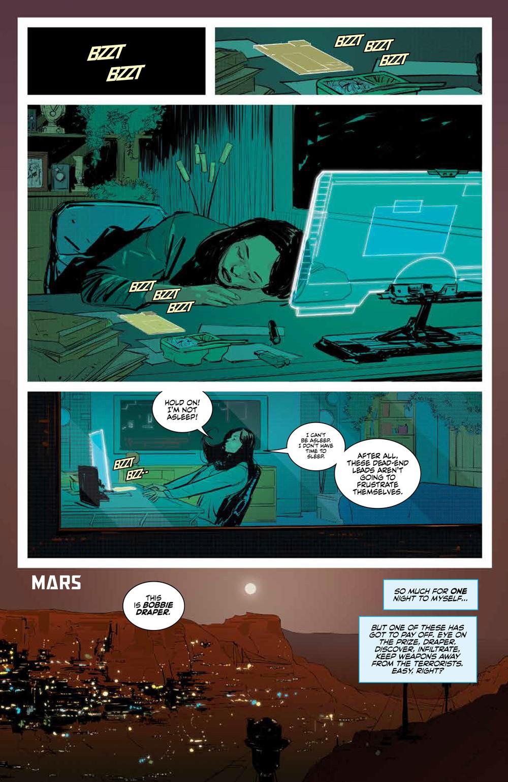 Expanse_SC_PRESS_10 ComicList Previews: THE EXPANSE TP