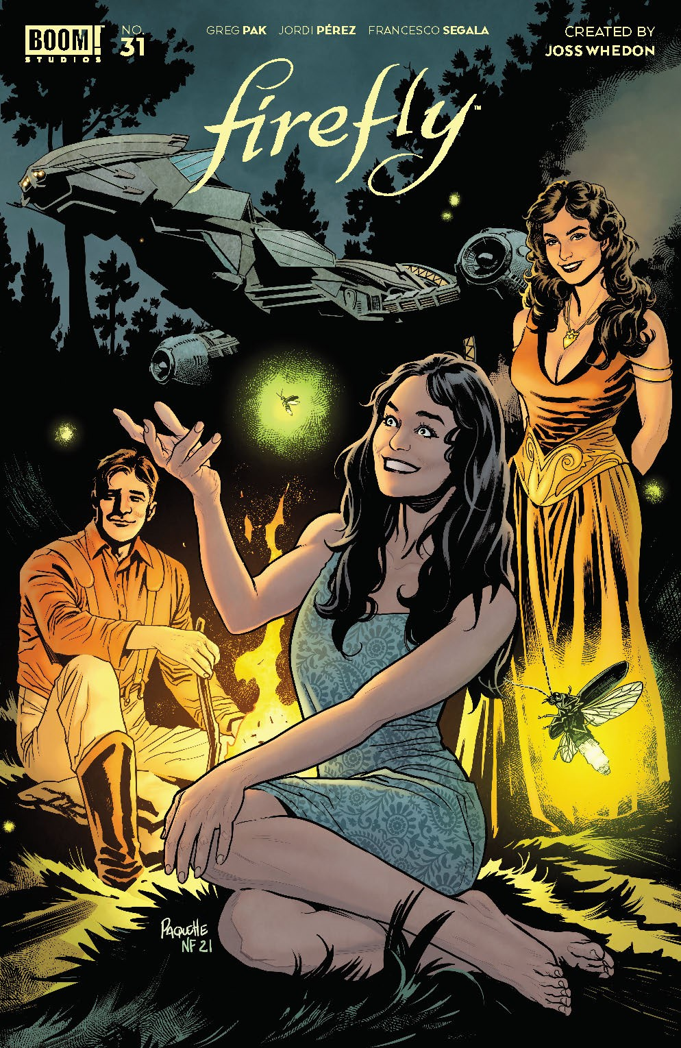 Firefly_031_Cover_B_Variant ComicList Previews: FIREFLY #31